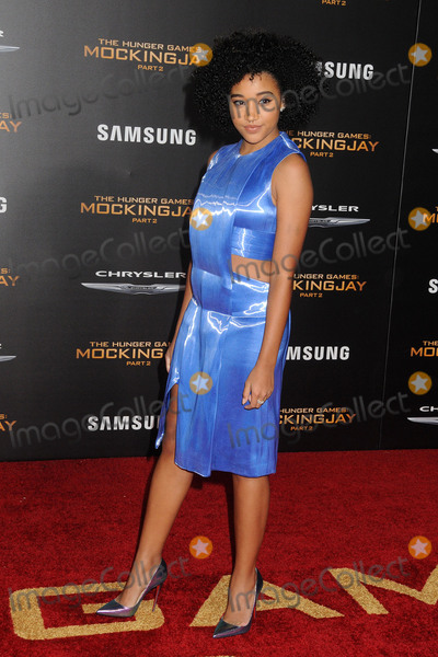 Amandla Stenberg Photo - 16 November 2015 - Los Angeles California - Amandla Stenberg The Hunger Games Mockingjay - Part 2 Los Angeles Premiere held at the Microsoft Theater Photo Credit Byron PurvisAdMedia