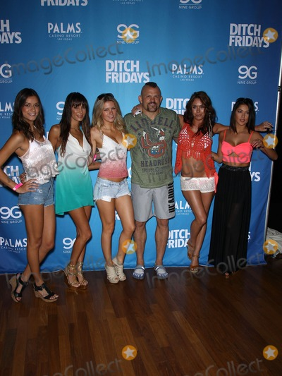 Chuck Liddell Photo - 05 July 2012 - Las Vegas Nevada - Vanessa Hanson Kenda Perez Chrissy Blair Chuck Liddell Rachelle Leah Arianny Celeste Chuck Liddell Arianny Celeste and UFC Octagon Girls host official UFC Fight Week Pool Party at Palms Pool  BungalowsPhoto Credit MJTAdMedia