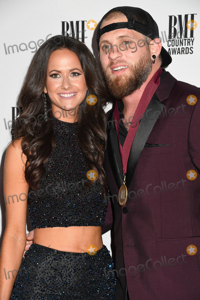 Brantley Gilbert Photo - 01 November 2016 - Nashville Tennessee - Brantley Gilbert and Amber Cochran 64th Annual BMI Country Awards 2016 BMI Country Awards held at BMI Music Row Headquarters Photo Credit Laura FarrAdMedia