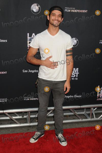 Tyler Posey Photo - 14 June 2015 - Los Angeles California - Tyler Posey LA Film Festival 2015 Series Premiere of Scream held at Regal Cinemas LA Live Photo Credit Byron PurvisAdMedia