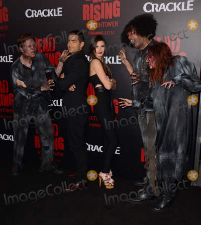 Kim Novak Photo - 11 March 2015 - Los Angeles California - Jesse Metcalfe Meghan Ory  Arrivals for Crackles world premiere original feature film Dead Rising Watchtower held at the Kim Novak Theater at Sony Pictures Studios Photo Credit Birdie ThompsonAdMedia