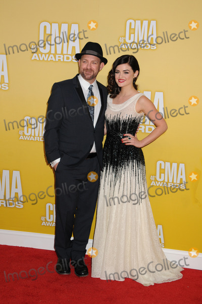 Kristian Bush Photo - 01 November 2012 - Nashville Tennessee - Kristian Bush Lucy Hale The 46th Annual CMA Awards Country Musics Biggest Night held at Bridgestone Arena Photo Credit Byron PurvisAdMedia