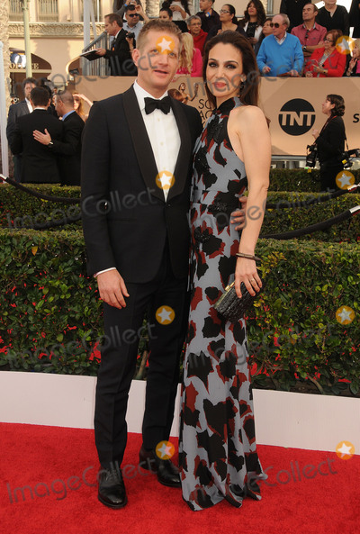 Annie Parisse Photo - 30 January 2016 - Los Angeles California - Paul Sparks Annie Parisse 22nd Annual Screen Actors Guild Awards held at The Shrine Auditorium Photo Credit Byron PurvisAdMedia