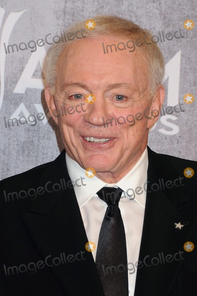 Jerry Jones Photo - 06 April 2014 - Las Vegas Nevada - Jerry Jones 49th Annual Academy of Country Music Awards - Press Room held at the MGM Grand Hotel Photo Credit Byron PurvisAdMedia