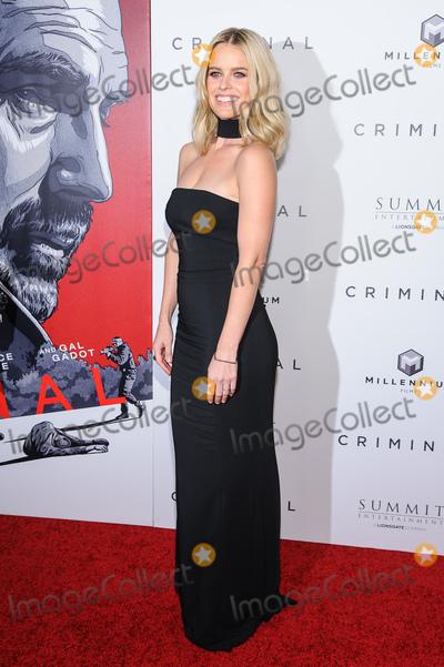 Alice Eve Photo - 11 April 2016 - New York New York- Alice Eve Criminal New York Premiere Photo Credit Mario SantoroAdMedia