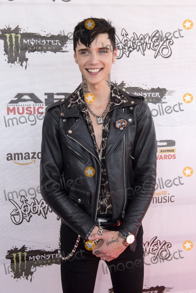 Andy Biersack Photo - 18 July 2016 - Columbus Ohio - Andy Black attends the Alternative Press Music Awards 2016 held at Jerome Schottenstein Center Photo Credit Jason L NelsonAdMedia