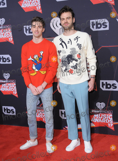The Chainsmokers Photo - 05 March 2017 - Inglewood California - The Chainsmokers  2017 iHeartRadio Music Awards held at The Forum in Inglewood Photo Credit Birdie ThompsonAdMedia