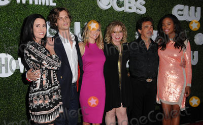 AJ Cook Photo - 10 August 2016 - West Hollywood California Paget Brewster  Matthew Gray Gubler AJ Cook Kirsten Vangsness Joe Mantegna Aisha Tyler 2016 CBS CW Showtime Summer TCA Party held at Pacific Design Center Photo Credit Birdie ThompsonAdMedia