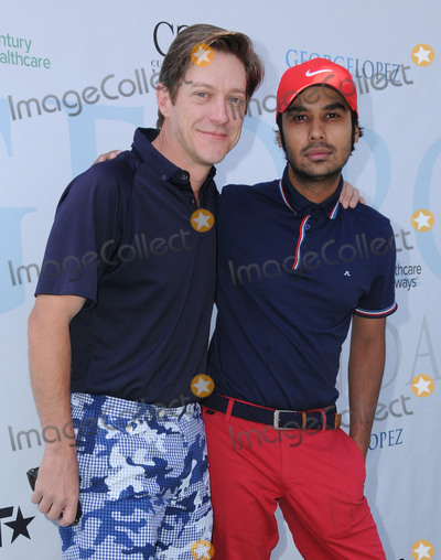 Kunal Nayyar Photo - 02 May 2016 - Burbank California - Kevin Rahm Kunal Nayyar Arrivals for the 9th Annual George Lopez Celebrity Golf Classic to benefit the George Lopez Foundation held at the Lakeside Golf Club Photo Credit Birdie ThompsonAdMedia
