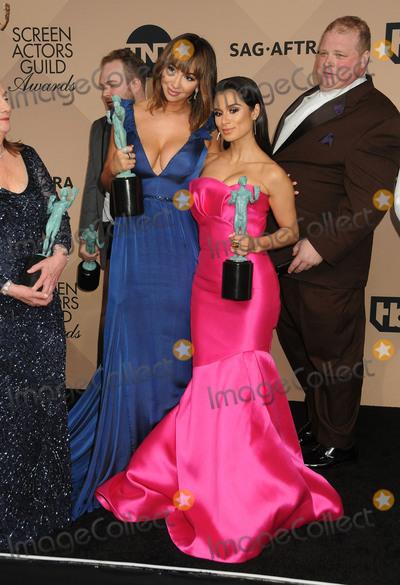 Jackie Cruz Photo - 30 January 2016 - Los Angeles California - Jackie Cruz Diane Guerrero 22nd Annual Screen Actors Guild Awards held at The Shrine Auditorium Photo Credit Byron PurvisAdMedia