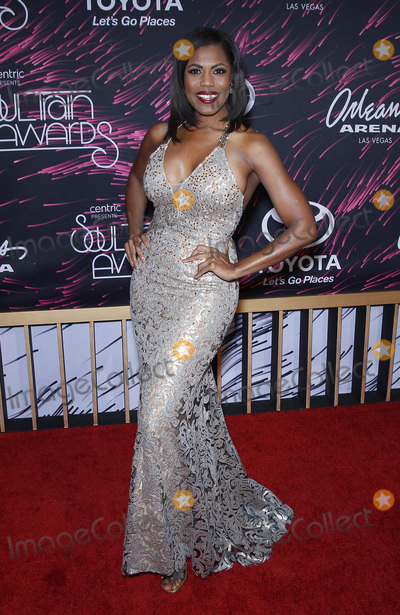 Omarosa Photo - 06 November 2015 - Las Vegas NV - Omarosa 2015 Soul Train Awards Arrivals at the Orleans Arena Photo Credit MJTAdMedia
