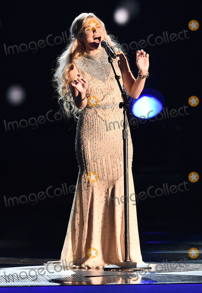 Clare Bowen Photo - 07 November 2013 - Nashville Tennessee - Clare Bowen 2014 CMA Country Christmas Taping held at Bridgestone Arena Photo Credit Laura FarrAdMedia