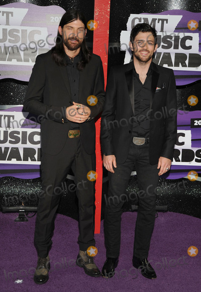 Avett Brothers Photo - 05 June 2013 - Nashville Tennessee - Scott Avett (L) and Seth Avett of The Avett Brothers 2013 CMT Music Awards held at Bridgestone Arena Photo Credit Ryan PavlovAdMedia