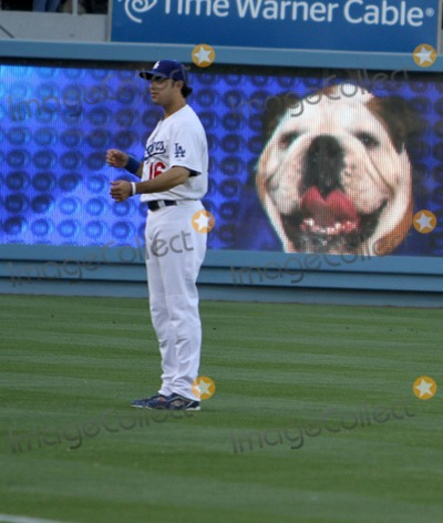 Andre Ethier Photo - 28 May 2011 - Los Angeles California - Andre Ethier 2nd Annual Bark In The Park   Held At Dodgers Stadium Photo Credit Kevan BrooksAdMedia