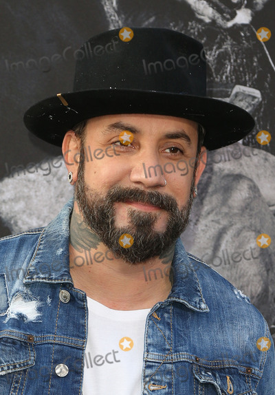 AJ McLean Photo - 08 May 2017 - Hollywood California - AJ McLean King Arthur Legend Of The Sword Los Angeles Premiere held at TCL Chinese Theatre Photo Credit AdMedia