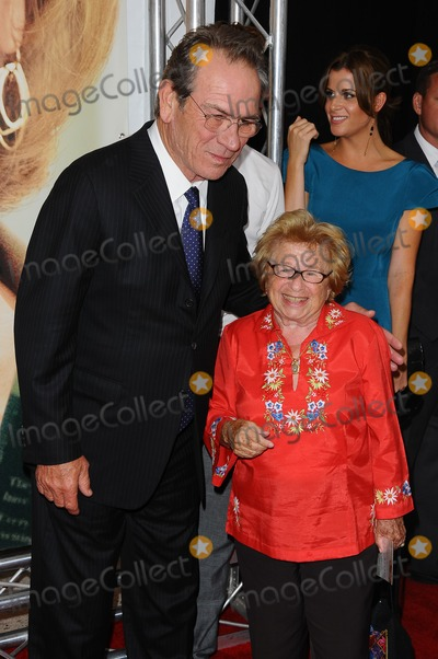 Tommy Lee Photo - 06 August 2012 - New York NY - Tommy Lee Jones Dr Ruth Westheimer Hope Springs - New York Premiere Photo Credit Mario Santoro AdMedia
