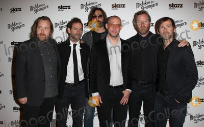 Aaron Dessner Photo - 25 March 2014 - Los Angeles California - Tom Berninger Bryce Dessner Bryan Devendorf Scott Devendorf Matt Berninger Aaron Dessner Los Angeles Screening Of Mistaken For Strangers Los Angeles Gala Dinner Held at The Shrine Auditorium Photo Credit FSadouAdMedia