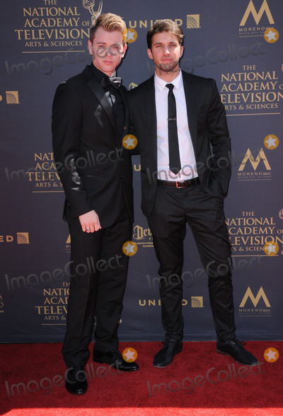 Chad Duell Photo - 30 April 2017 - Pasadena California - Chad Duell Bryan Craig 44th Annual Daytime Emmy Awards held at Pasadena Civic Centerin Pasadena Photo Credit Birdie ThompsonAdMedia