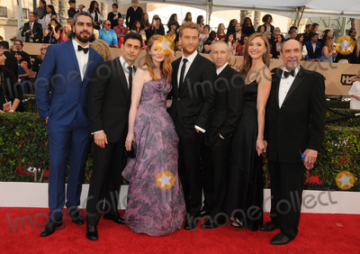Alexander Fehling Photo - 30 January 2016 - Los Angeles California - Atheer Adel Rene Ifrah Miranda Otto Alexander Fehling Mark Ivanir Sarah Sokolovic F Murray Abraham 22nd Annual Screen Actors Guild Awards held at The Shrine Auditorium Photo Credit Byron PurvisAdMedia