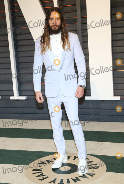 Jared Leto Photo - 22 February 2015 - Beverly Hills California - Jared Leto 2015 Vanity Fair Oscar Party Hosted By Graydon Carter following the 87th Academy Awards held at the Wallis Annenberg Center for the Performing Arts Photo Credit AdMedia