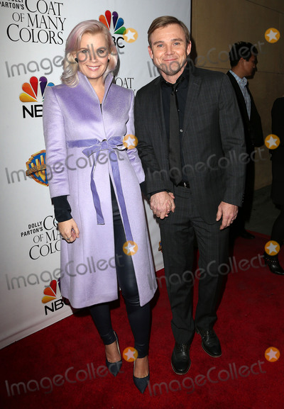 Andrea Bernard Photo - 02 December 2015 - Hollywood California - Ricky Schroder Andrea Bernard Schroder Dolly Partons Coat of Many Colors Screening held at the  Egyptian Theatre Photo Credit SammiAdMedia