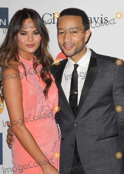 Christine Teigen Photo - 09 February 2013 - Beverly Hills California - Christine Teigen John Legend Clive Davis And The Recording Academys 2013 GRAMMY Salute To Industry Icons Gala held at The Beverly Hilton Hotel Photo Credit Kevan BrooksAdMedia