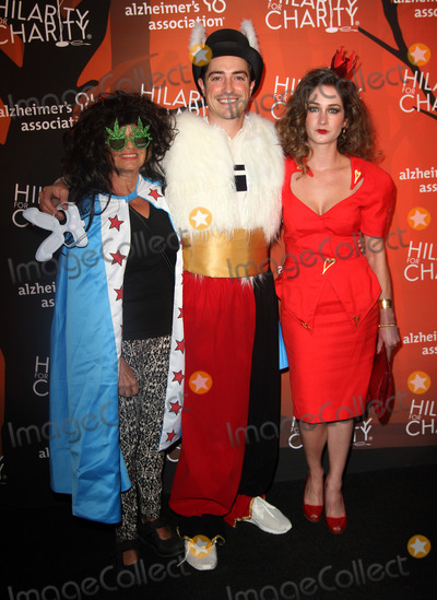 Michelle Mulitz Photo - 15 October 2016 - Beverly Hills California - Ben Feldman with wife Michelle Mulitz and his mother Marcia Muir Mitchell Fifth Annual Hilarity For Charity Variety Show held at The Hollywood Palladium in Hollywood Photo Credit AdMedia
