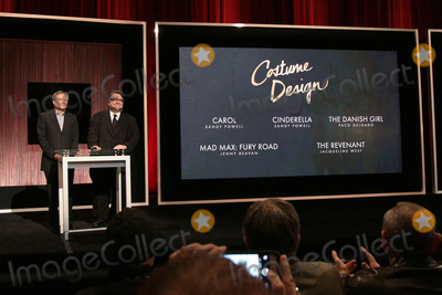Ang Lee Photo - 14 January 2016 - Beverly Hills California - Ang Lee Guillermo del Toro Category Costume Design 88th Annual Oscars Nominations Announcement held at the Samuel Goldwyn Theater Photo Credit Byron PurvisAdMedia