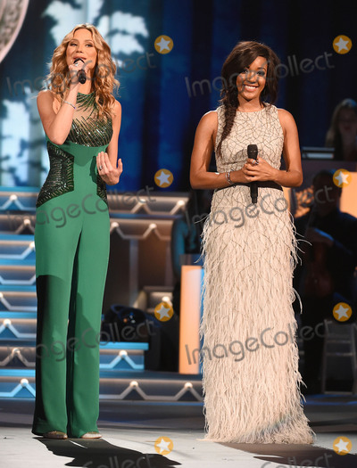 Jennifer Nettles Photo - 07 November 2015 - Nashville Tennessee - Jennifer Nettles Mickey Guyton 2015 CMA Country Christmas held at the Grand Ole Opry House Photo Credit Laura FarrAdMedia