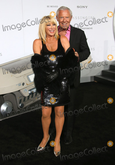 Alan Hamel Photo - 14 December 2016 - Westwood California - Suzanne Somers Alan Hamel Passengers Los Angeles Premiere held at Regency Village Theatre Photo Credit F SadouAdMedia
