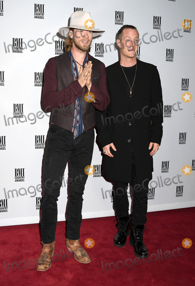 Brian Kelley Photo - 01 November 2016 - Nashville Tennessee - Brian Kelley and Tyler Hubbard of Florida Georgia Line 64th Annual BMI Country Awards 2016 BMI Country Awards held at BMI Music Row Headquarters Photo Credit Laura FarrAdMedia