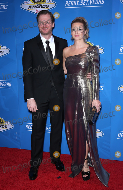 Dale Earnhardt Jr Photo - 02 December 2016 - Las Vegas NV -  Dale Earnhardt Jr Amy Reimann   2016 NASCAR Sprint Cup Series Awards at Wynn Las Vegas red carpet arrivals  Photo Credit MJTAdMedia