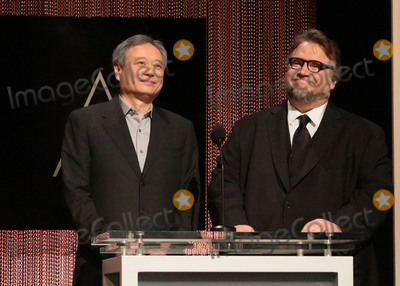 Ang Lee Photo - 14 January 2016 - Beverly Hills California - Ang Lee Guillermo del Toro 88th Annual Oscars Nominations Announcement held at the Samuel Goldwyn Theater Photo Credit Byron PurvisAdMedia