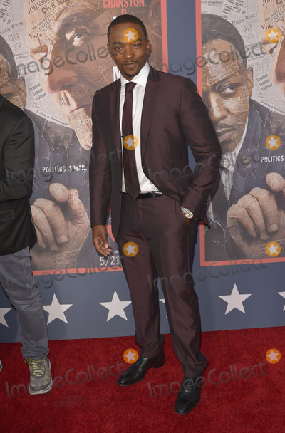Anthony Mackie Photo - 10 May 2016 - Hollywood California - Anthony Mackie All The Way Los Angeles Premiere held at Paramount Studios Photo Credit Koi SojerAdMedia