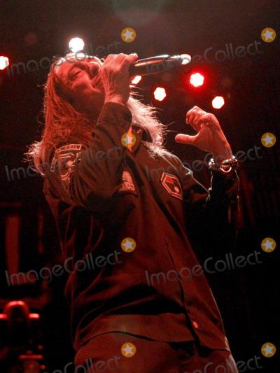 Andrea Ferro Photo - April 24 2013 - Atlanta GA - Italian heavy metal band Lacuna Coil opened for Sevendust at The Tabernacle on Tuesday April 24 2013 in Atlanta GA Photo credit Dan HarrAdMedia