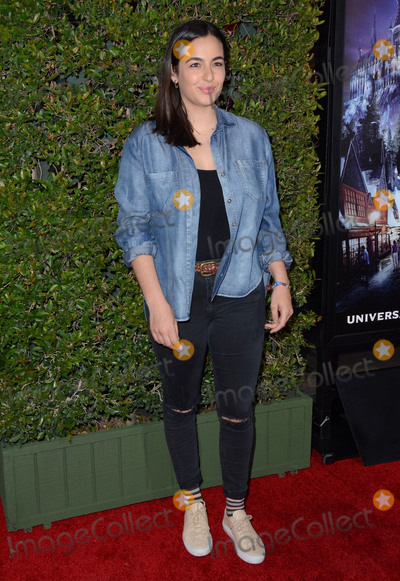 Alanna Masterson Photo - 05 April 2016 - Universal City California - Alanna Masterson Arrivals for Universal Studios Wizarding World of Harry Potter Opening held at Universal Studios Hollywood Photo Credit Birdie ThompsonAdMedia