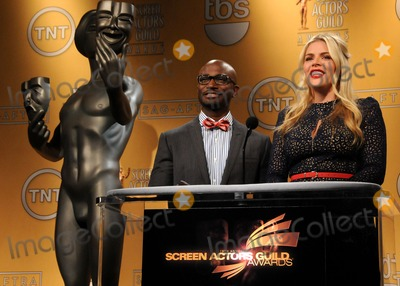 Taye Diggs Photo - 12 December 2012 - West Hollywood California - Taye Diggs Busy Philipps 19th Annual Screen Actors Guild Awards Nominations Announcement held at the Pacific Design Center Photo Credit Byron PurvisAdMedia