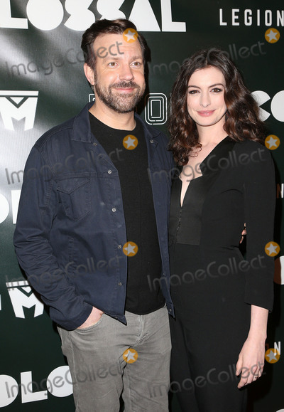 Ann Hathaway Photo - 04 April 2017 - Los Angeles California - Anne Hathaway Adam Shulman Colossal - Los Angeles Premiere held at Vista Theatre Photo Credit AdMedia