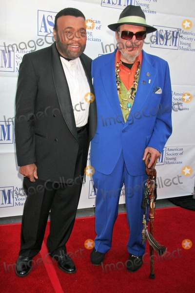 Andrae Crouch Photo - Andrae Crouch and Dr Johnat the 15th Annual American Society of Young Musicians Spring Benefit Concert and Awards Scientology Center Hollywood CA 06-07-07