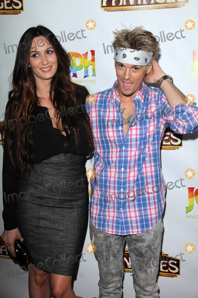 Aaron Carter Photo - Angel Carter Aaron Carterat the Joseph And The Amazing Technicolor Dreamcoat Opening Pantages Hollywood CA 06-04-14