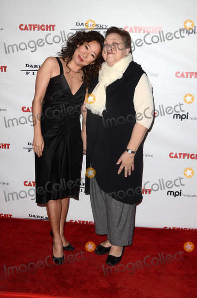 Amy Hill Photo - Sandra Oh Amy Hillat the Catfight Los Angeles Premiere Cinefamily Theater Los Angeles CA 03-02-17