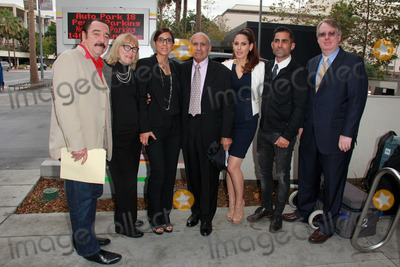 Mike Kasem Photo - Logan Clarke Martha Patterson Julie Kasem Mouner Kasem Kerri Kasem Mike Kasem Troy Martinat Casey Kasems Family Press Conference Stanley Mosk Courthouse Los Angeles CA 01-30-15