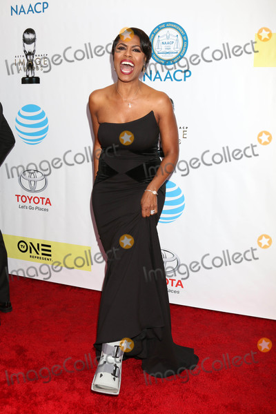 Omarosa Photo - Omarosa Manigault Stallworthat the 48th NAACP Image Awards Arrivals Pasadena Conference Center Pasadena CA 02-11-17