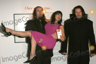 Ava Cadell Photo - Dr Ava Cadell and bodyguards at Dr Ava Cadells Book Release Party for The Pocket Idiots Guide to Oral Sex Erotic Museum Hollywood CA 01-25-05