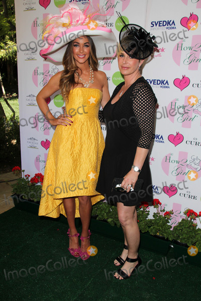 Annual Derby Photo - Courtney Sixx Kelly Grayat the Annual Derby Ladies Luncheon Private Location Westlake Village CA 05-02-15