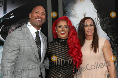 Dany Garcia Photo - Dwayne Johnson Eva Marie Dany Garciaat the San Andreas Los Angeles Premiere TCL Chinese Theater Hollywood CA 05-26-15