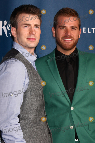 SCOTT EVANS Photo - Chris Evans Scott Evansat the 24th Annual GLAAD Media Awards JW Marriott Los Angeles CA 04-20-13