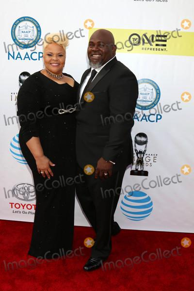 Tamela Mann Photo - Tamela Mann David Mannat the 48th NAACP Image Awards Arrivals Pasadena Conference Center Pasadena CA 02-11-17