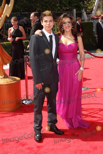 Jake T Austin Photo - Jake T Austin and Maria Canals Barreraat the 2011 Primetime Creative Arts Emmy Awards Nokia Theatre LA Live Los Angeles CA 09-10-11