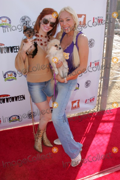 Bow Wow Photo - Phoebe Price and Mary Careyat the Fourth Annual Much Love Animal Rescue Bow Wow Ween Barrington Dog Park Los Angeles CA 10-30-05